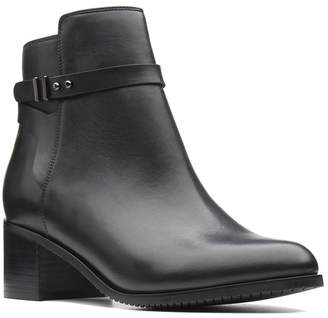 Clarks Womens Black Poise Freya Boot - Black