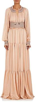 Ulla Johnson Women's Athena Silk Maxi Dress