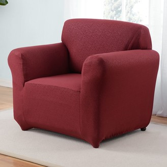 Kathy Ireland Ingenue Stretch Arm Chair Slipcover