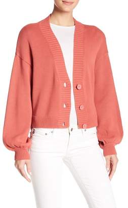 Abound Ribbed V-Neck Cardigan