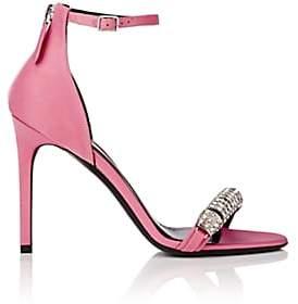 Calvin Klein Women's Camelle Satin Sandals-Rose