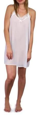 Women's and Women's Plus Bridal Lace Chemise
