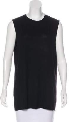 AllSaints Scoop Neckline Sleeveless Top