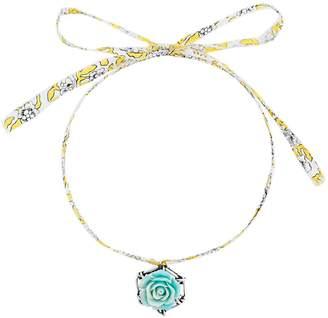 Dannijo Tea floral pendant necklace