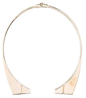 Jason Wu Engraved Bar Choker Necklace