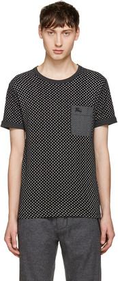 Burberry Black Sandon T-Shirt $225 thestylecure.com