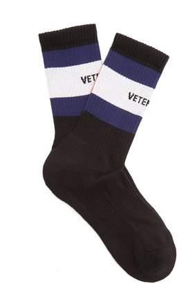 Vetements X Tommy Hilfiger striped socks