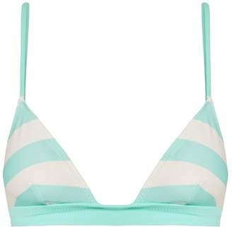 Solid & Striped The Morgan striped bikini top