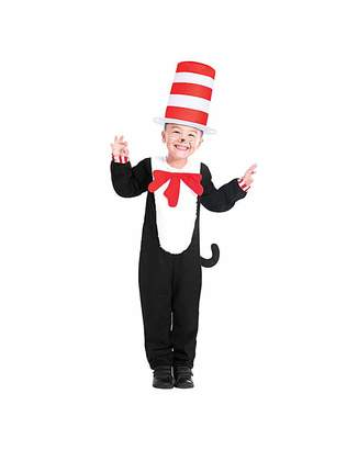 Fashion World Cat in The Hat Jumpsuit Costume
