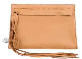 AllSaints Structured Leather Crossbody Bag