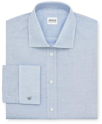 Armani Collezioni Micro Texture Dress Shirt - Regular Fit