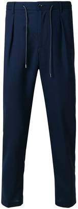 Barba drawstring trousers