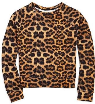 Terez Girls' Leopard Print Top - Big Kid