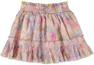 Stella McCartney Youth Girls Twinkle Pink Marble Print Skirt