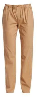Loro Piana Women's Davin Cotton& Silk Safari Pants - Golden Desert - Size 38 (2)