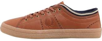 Fred Perry Kendrick Tip Cuff Brogues Tan