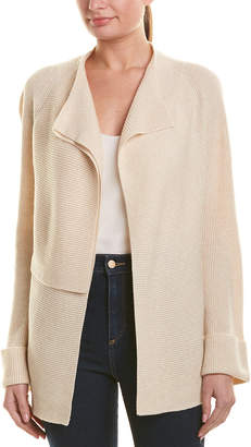 Vince Double-Breasted Wool & Cashmere-Blend Cardigan