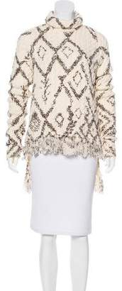 Altuzarra Cable Knit Turtleneck Sweater