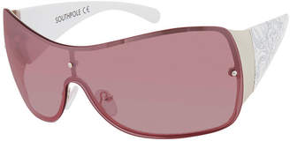 Southpole South Pole Womens Rimless Shield UV Protection Sunglasses