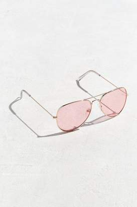 Urban Outfitters Pink Top Gun Aviator Sunglasses