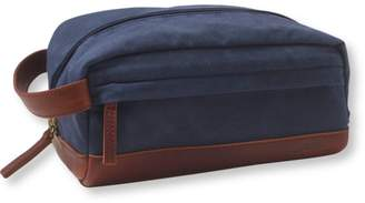 L.L. Bean L.L.Bean Heritage Waxed-Canvas Toiletry Kit