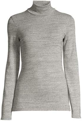 Splendid Classic Heathered Turtleneck