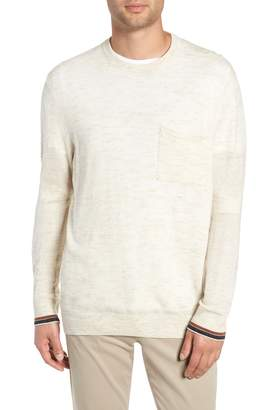 Vince Tipped Wool Blend Sweater