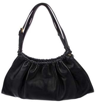 Gucci Ruched Leather Hobo