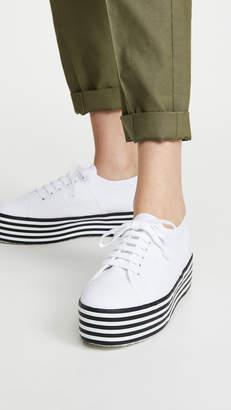 Superga 2790 Multi Stripes Platform Sneakers
