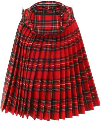 R 13 Panel Skirt With Beltbag