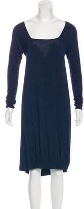 Zero Maria Cornejo Long Sleeve Knit Dress