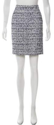 Blumarine Tweed Mini Skirt