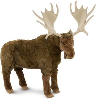 Melissa & Doug Puppets Plush-Lifelike Stuffed Moose Animal