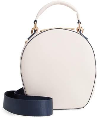 Deux Lux Annabelle Faux Leather Circle Crossbody Bag