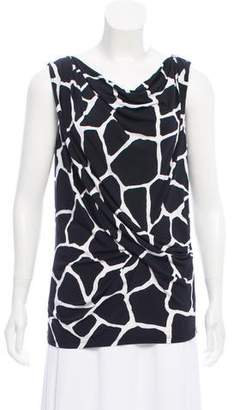 2cd09788dd Pre-Owned at TheRealReal · MICHAEL Michael Kors Sleeveless Animal Print  Blouse