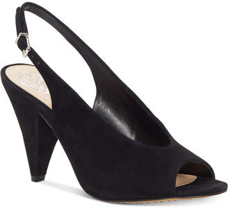 Vince Camuto Paelina Slingback Cone-Heel Sandals Women's Shoes