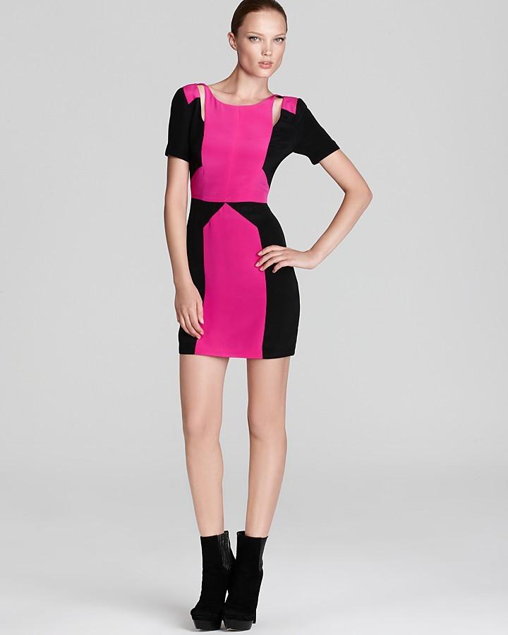Rebecca Minkoff Dress - Crystal Colorblock