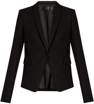 HAIDER ACKERMANN Proud shawl-lapel wool blazer $1,624 thestylecure.com