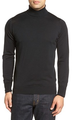 Men's John Smedley 'Richards' Easy Fit Turtleneck Wool Sweater $295 thestylecure.com