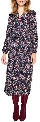 Boden V-Neck Everyday Midi Dress