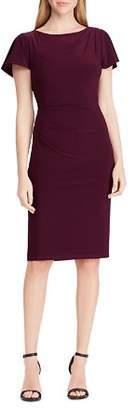 Ralph Lauren Draped Jersey Dress