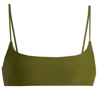 Muse scoop-neck bikini top