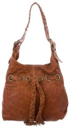 Kooba Carla Distressed Leather Hobo