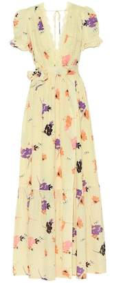 Self-Portrait Exclusive to mytheresa.com – Floral-printed crêpe maxi dress