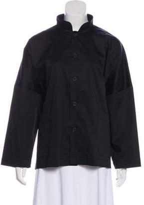 eskandar Oversize Button-Up Blouse