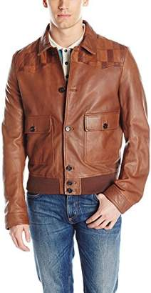 Just Cavalli Men's Leather Daywear Sportwear