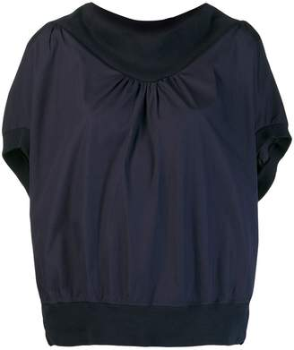 Tsumori Chisato blouse with structured collar