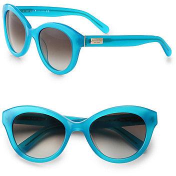 Kate Spade Cordelia Cat's-Eye Acetate Sunglasses