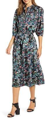 Rebecca Minkoff Tina Floral Midi Dress