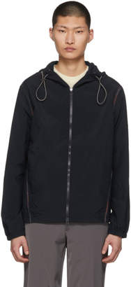 Missoni Navy Zip-Up Windbreaker Jacket